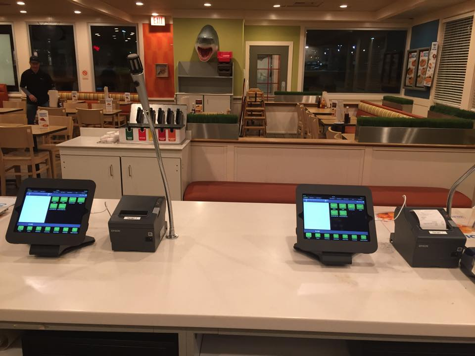 POSLavu iPad POS at Captain D's Grand Prairie, Texas