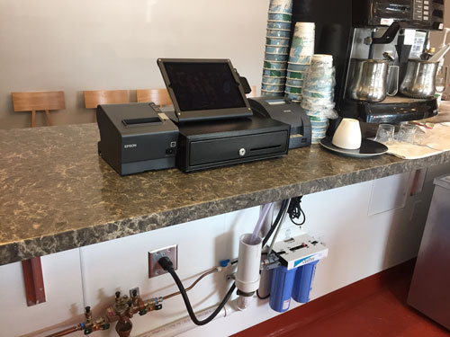 Gather Coffee Shop POS System in Addison, Texas