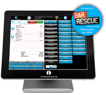 Harbortouch Bar and Restaurant Smart POS System