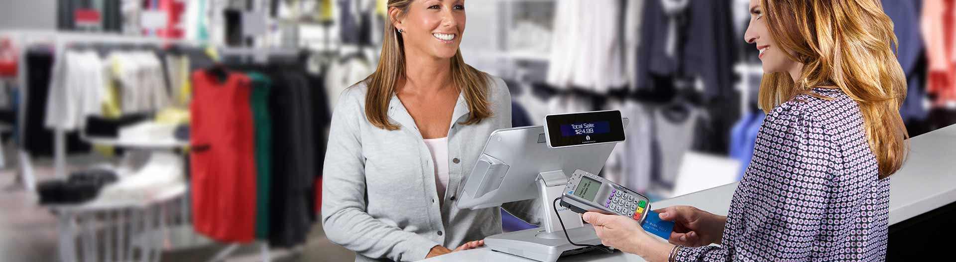 Dallas POS Systems - Customer and Cashier Transaction
