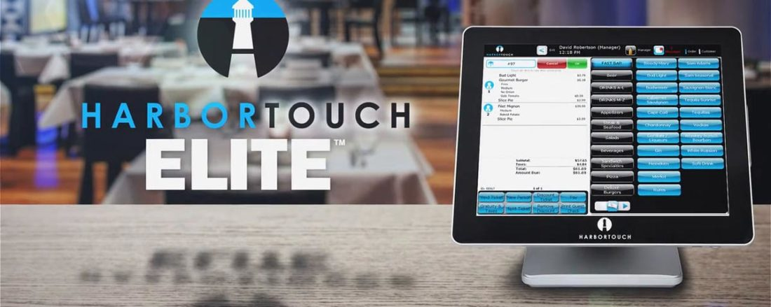 Harbortouch Bar and Restaurant Elite POS Systems for Hospitality - Dallas POS Systems